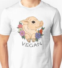 Vegan Piggy! Unisex T-Shirt