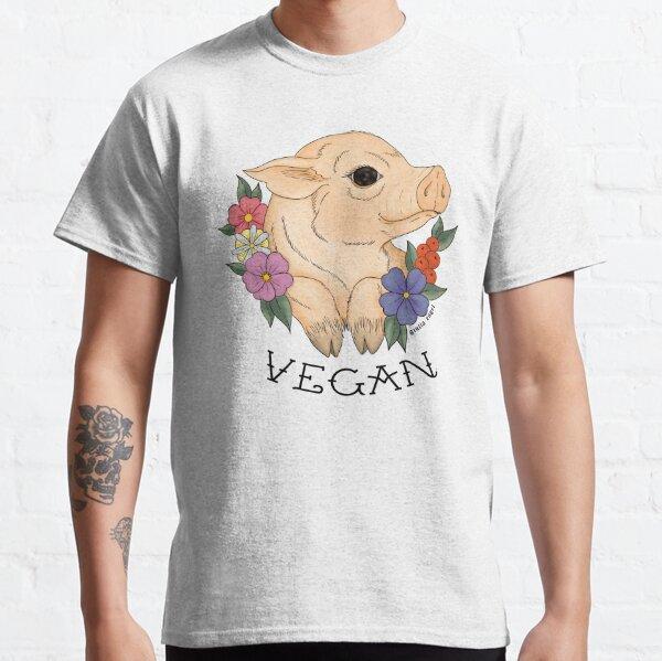 Vegan Piggy! Camiseta clásica