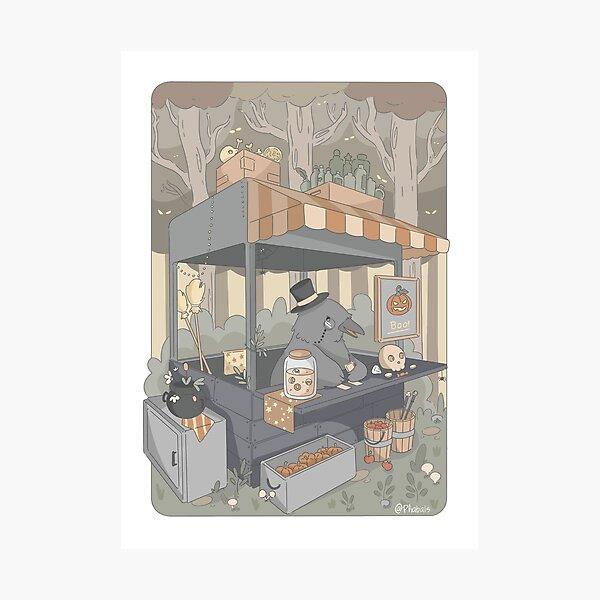 Mister crow's shop Photographic Print