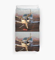 Aircraft at Page, Arizona Duvet Cover