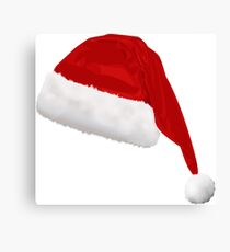 christmas hat Canvas Print