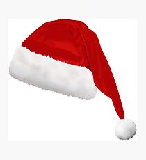 christmas hat Photographic Print