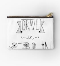 Be brave in Berlin Studio Pouch