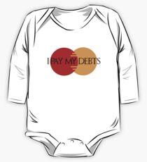 I Pay My Debts Kids Clothes