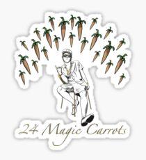 24 Magic Carrots Sticker