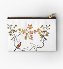 japanese flowers and birds Studio Pouch