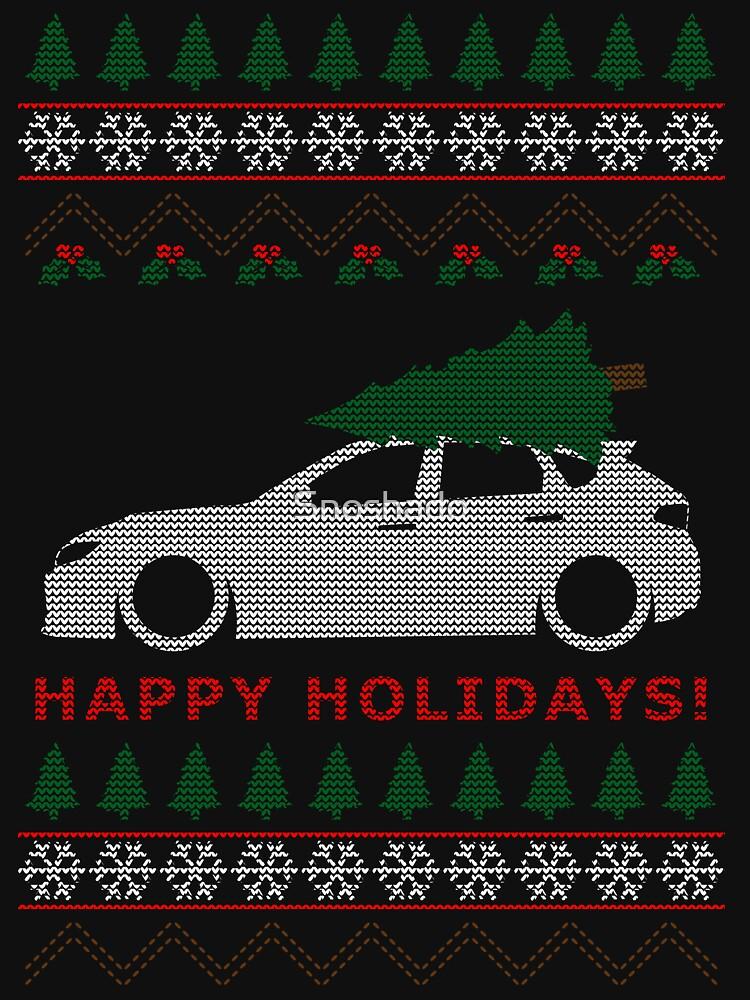 WRX STI Hatch Ugly Christmas Sweater (GR) de Snoshado