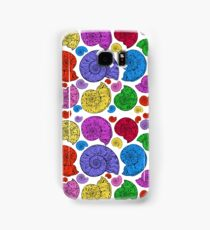 Rainbow Ammonites Samsung Galaxy Case/Skin