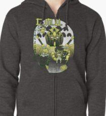 Anime Club Shirt Hoodie mit Reißverschluss
