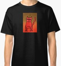 Bandit Cat Classic T-Shirt