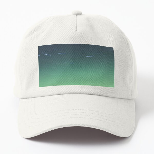 Northern Lights Over Lake Laurie Dad Hat