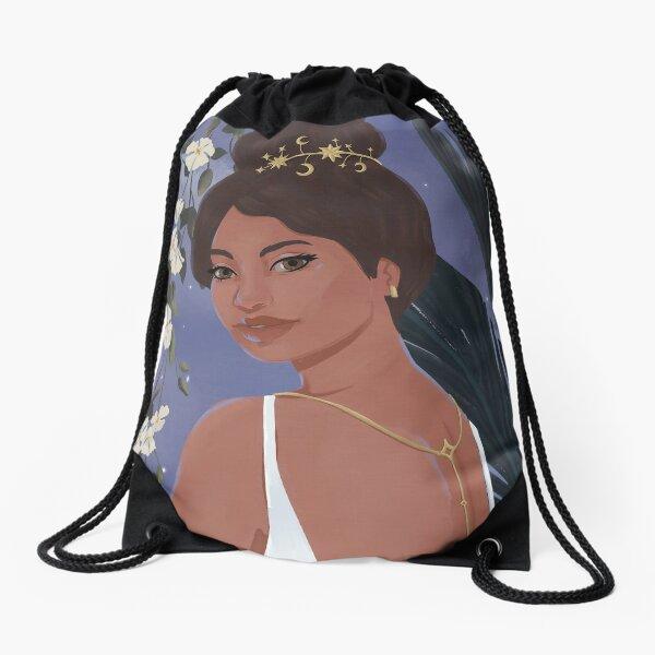 Aria Portrait Drawstring Bag