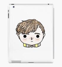 Quirky, Dorky Wizard iPad Case/Skin