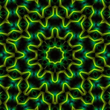 Abstract green design by rainsdesigns