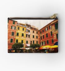 Buildings of Vernazza Studio Pouch