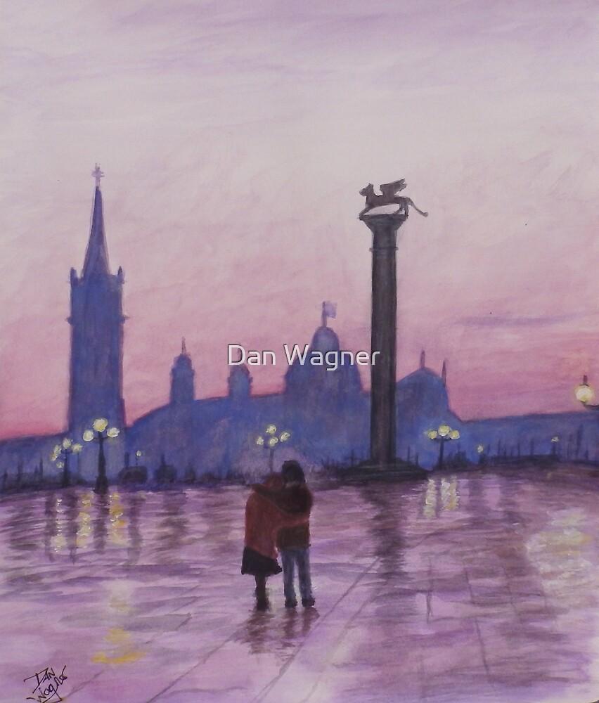 Walk in Italy in the rain by Dan Wagner