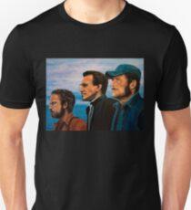 Richard Dreyfuss, Roy Scheider and Robert Shaw in Jaws Unisex T-Shirt