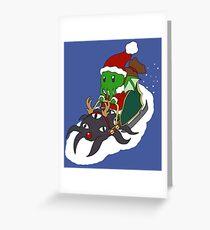 Merry Cthulhmas Greeting Card