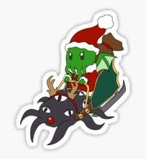 Merry Cthulhmas Sticker