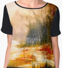 The First Warmth.. Chiffon Top