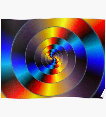 Data Spiral Poster