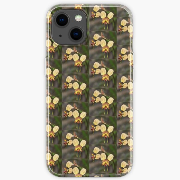 Donkey Orchid iPhone Soft Case
