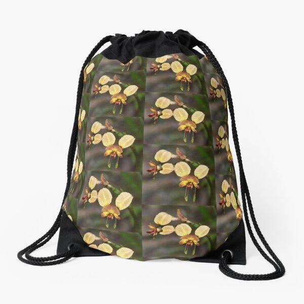 Donkey Orchid Drawstring Bag