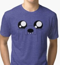 Jake the Adorable Tri-blend T-Shirt