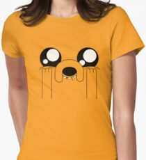 Jake the Adorable Womens Fitted T-Shirt