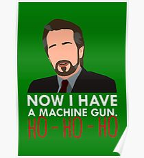 Now I Have A Machine Gun. Poster