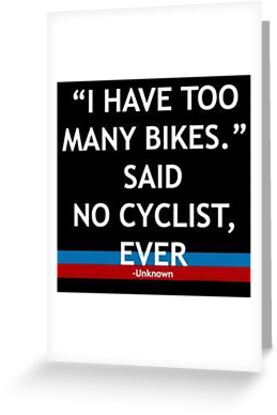 Said No CYCLIST Ever von kpstyles