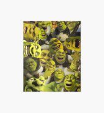 Shrek Collage  Art Board