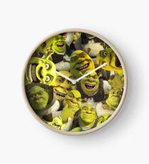 Shrek Collage  Clock