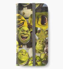 Shrek Collage  iPhone Wallet/Case/Skin