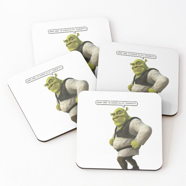 Shrek  Coasters (Set of 4)