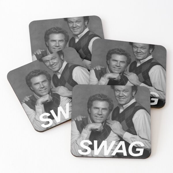 Step Brothers Swag Coasters (Set of 4)
