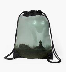 He who hunts alone Drawstring Bag