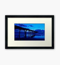 My Ocean's Blue Horizon Framed Print