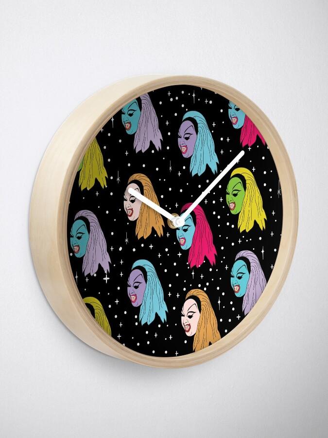Alternate view of Punk Divine Clock