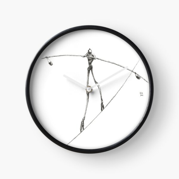 Tight Rope Clock
