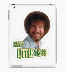 Bob Ross No Mistake Just Happy Little Trees Painter Design iPad Case/Skin