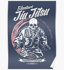 Jiu jitsu Horror Fighter Poster