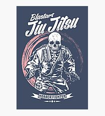 Jiu jitsu Horror Fighter Photographic Print