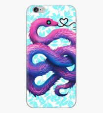 Cotton Candy Snake iPhone Case