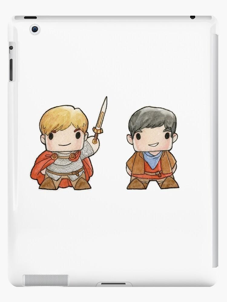 Merlin And Arthur Biddys Ipad Case Skin By Obaith13 Redbubble