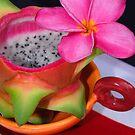 Dragon Fruit Dessert by Jason Pepe