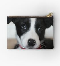A puppy named Ollie Studio Pouch