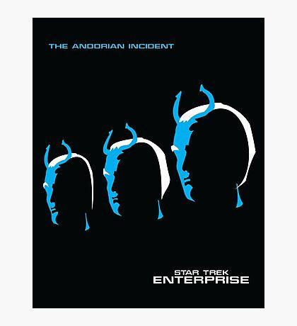 Enterprise   The Andorian Incident Photographic Print