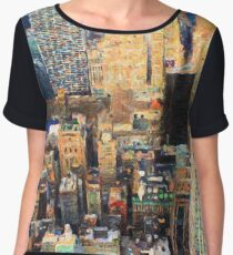 New York City Women's Chiffon Top