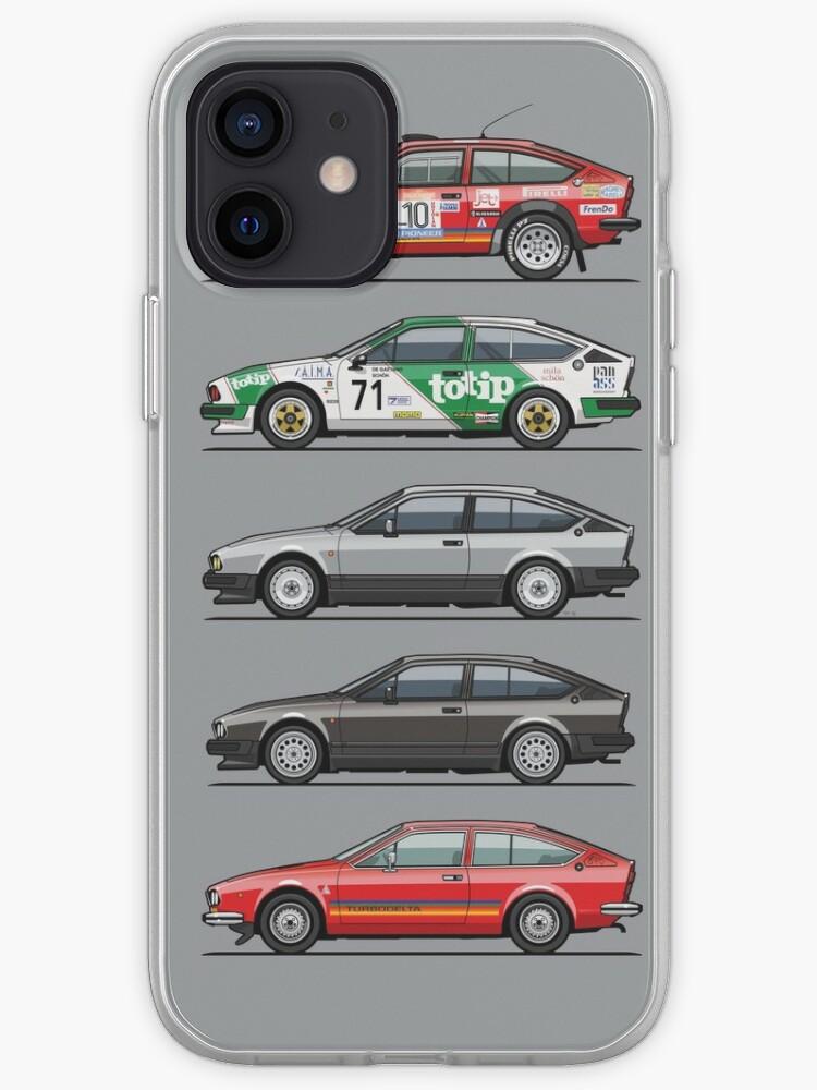 Pile d'Alfa Romeo Alfetta GT et GTV6 | Coque iPhone